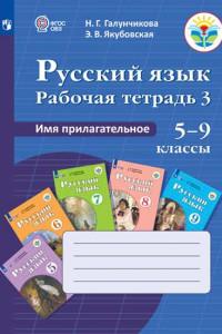 Галунчикова. Р/т №3 по русскому языку. Имя прилагат. 5-9 кл.