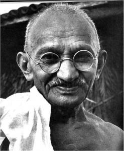 Автор - Махатма Ганди