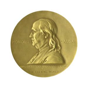 Особое упоминание Пулитцеровской премии в области литературы