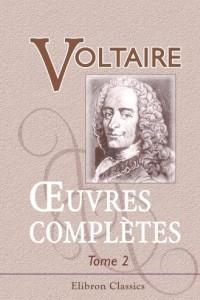 ?uvres completes de Voltaire: Nouvelle edition. Tome 2: Theatre, Tome 1