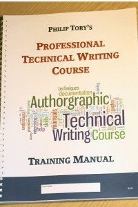 Technical Writing Course Training Manual
