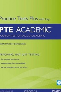 Pearson Test of English Academic: Practice Tests Plus with Key