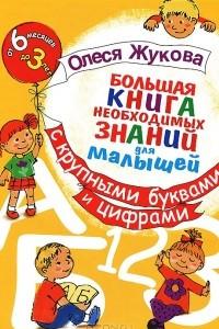 Большая книга необходимых знаний для малышей с крупными буквами и цифрами