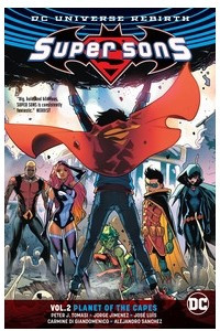 Super Sons Vol. 2: Planet of the Capes