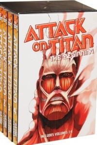 Attack on Titan: The Beginning: Volume 1-4