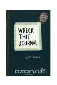 Wreck This Journal (Black)